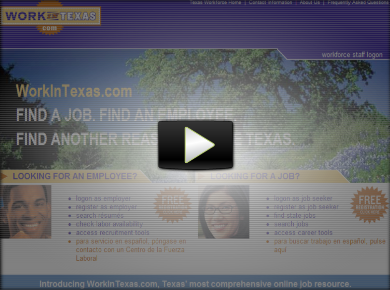 watch this video about workintexascom